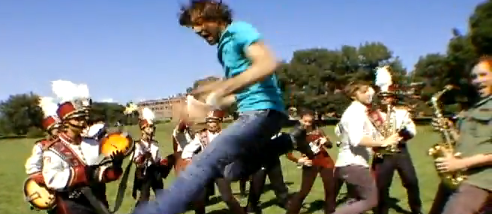 Dance Party! Band and alumni record smash YouTube hit