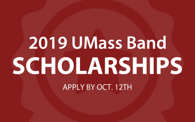 UMass band scholarships