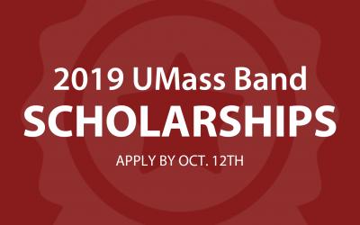 UMass band scholarships