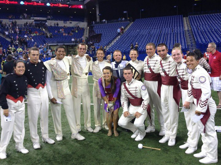 DCI age outs 2012 UMass Band