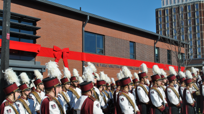 UMass Band Building
