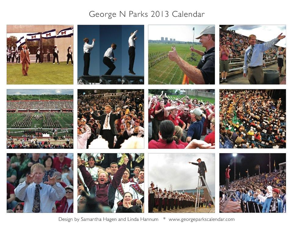George Parks 2013 calendar