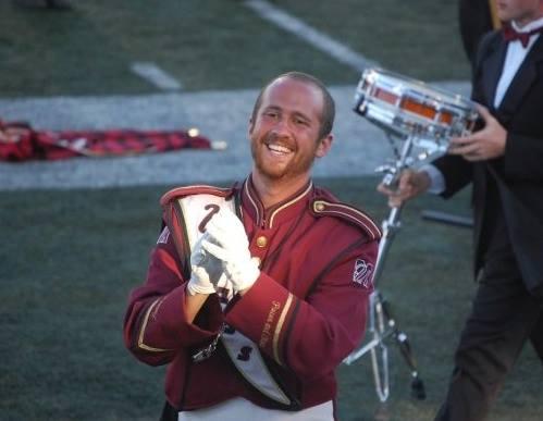 Jon Swengler, UMass drum major