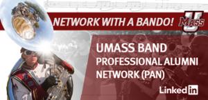 UMass Band career network