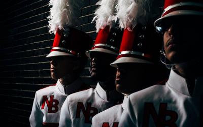 New Bedford High School band