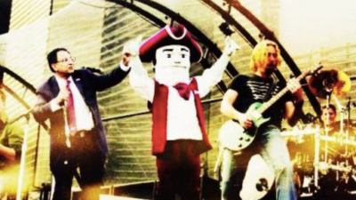 Nickelback to replace UMass Marching Band