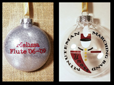 UMass band ornaments