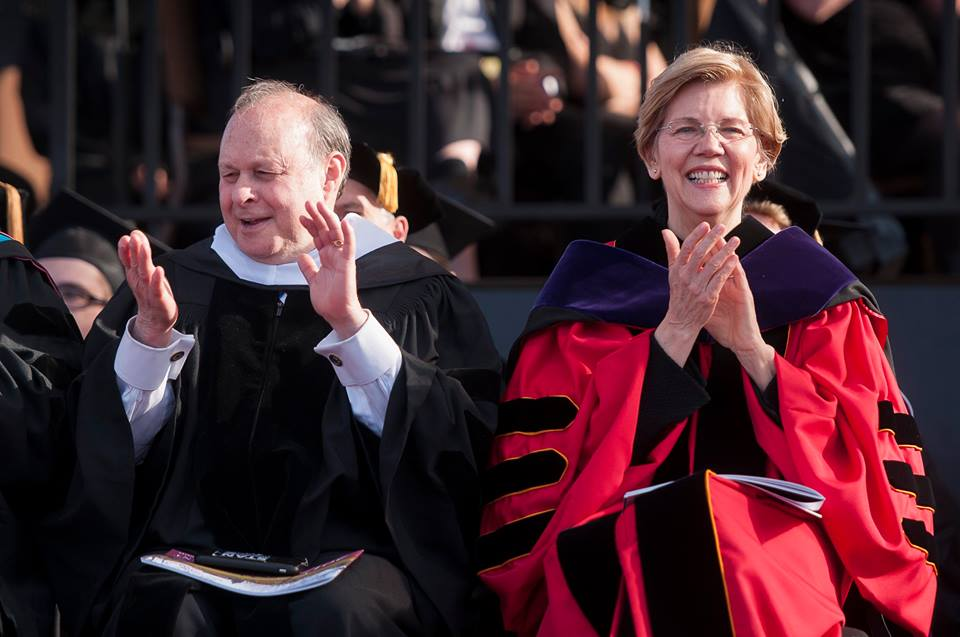 Stan Rosenberg and Elizabeth Warren