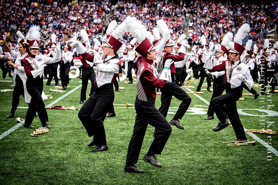 UMass Band performing Michael Jackson's Thriller