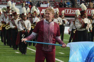 Tim Anderson color guard