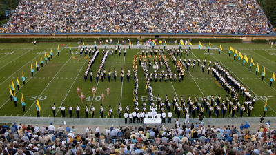 University of Delaware Fightin' Blue Hen Marching Band