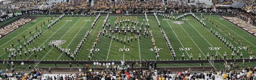 Western Michigan Bronco Marching Band