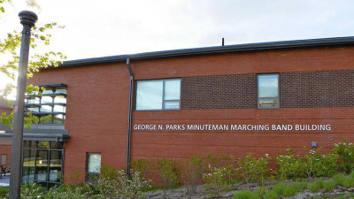 George N. Parks Minuteman Marching Band Building