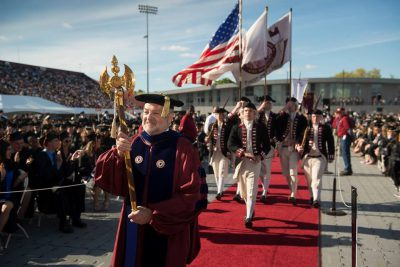 Colonial Honor Guard 2017 Commencement